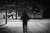 N.K. (Sareni) Tags: sareni serbia srbija vojvodina banat juznibanat alibunar center centar nk night noc buildings staza tree trees drvo drvece snow sneg man covek light svetlost domkulture bandera bw blackandwhite crnobela winter zima january 2017 twop