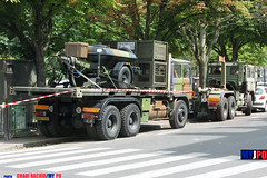 BDQJ09-4618 RENAULT G290 VTL (milinme.myjpo) Tags: frencharmy renault g290 vtl véhicule de transport logistique remorque rm19 trailer bastilleday