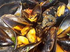 Zuppa di cozze  #cozze #Palermo #Sicilia #Sicily  #crostacei #pesce #mare (siciliabuzz) Tags: sicilia mare pesce sicily crostacei palermo cozze