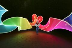 GOR 05 (aaron saye) Tags: light sky moon lighthouse beach june canon painting amazing kiss kissing paint aaron creative australia victoria moonrise laser chuck greatoceanroad lazer 2015 queensbirthday gor longweekend saye splitpoint pixelstick