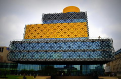 Library of Birmingham (Tony Worrall Foto) Tags: county new city uk england building architecture modern design high birmingham stream tour open place centre country north central large visit location rings area tall northern update mid westmidlands attraction brum midlands brummie libraryofbirmingham 2015tonyworrall mecanooslibraryofbirmingham