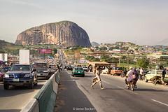 Zuma Rock (Irene Becker) Tags: africa westafrica nigeria monolith blackafrica arewa northernnigeria federalcapitalterritory gatewaytoabuja nigerianimages nigerianphotos imagesofnigeria northnigeria
