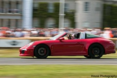 Porsche 911 Targa ({House} Photography) Tags: car festival race speed climb westsussex hill 911 convertible automotive racing german porsche panning fos goodwood motorsport chichester targa housephotography timothyhouse