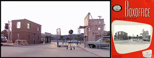 Studio Back Lot with Movie Magazine