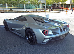New Ford GT Prototype (Thumpr455) Tags: auto new ford car silver automobile exotic prototype gt rare supercar 4s gt40 iphone fordgt fomoco midengine hypercar worldcars ecoboost