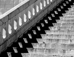 PERPIGNAN ESCALIER MONUMENTAL BLACK AND WHITE (patrick555666751) Tags: perpignan escalier monumental black and white flickr united award patrick roger orientales catalogne roussillon stairs blanco y negro bianco e nero noir et blanc schwarz und weiss preto branco pyrenees france europa paisos catalans