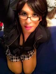 I love being a schoolgirl (Veronicaj410) Tags: cd crossdressing transgender sissy tranny trans schoolgirl schoolgirls miniskirt crossdresser ts transsexual ladyboy heshe transex sheboy platedskirts