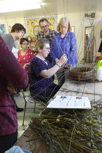 Willow baskets with Jess Wilkinson