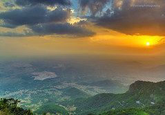 Sunset at Yercaud hills. (vinaayagamurthy) Tags: sunset canon flickr sunsets hdr highdynamicrange yercaud beautifulsky beautifulsunset canonphotography incredibleindia besthdr hdrlandscape exploreindia teamcanon worldinhdr 5dmark3 shervaroys canon5dmark3