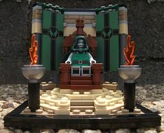 Throne of Dr. Doom (brigh87) Tags: lego minifigs marvel drdoom victorvondoom sdcc2015 drfatalis throneofultron victorvonfatalis