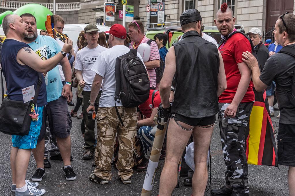 DUBLIN 2015 LGBTQ PRIDE FESTIVAL [PREPARING FOR THE PARADE] REF-106220