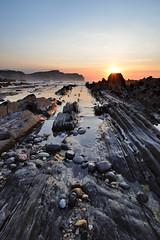 Novales - Asturias (Balthus Van Tassel) Tags: travel sunset beach spain nikon wideangle asturias d750 llanes 1835 biscay