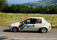074-DSC_6420 - Peugeot 205 Rallye - N1 - Formolli Giordano-Duico debora - Promo Sport Racing ASD (pietroz) Tags: photo nikon foto photos rally fotos di pietro circuito cremona zoccola pietroz d300s