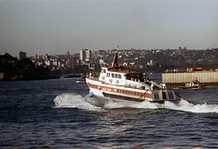 27-167 (ndpa / s. lundeen, archivist) Tags: city color film ferry 35mm buildings harbor boat harbour nick sydney australian australia tugboat 1970s 27 1972 sydneyharbour hydrofoil ferryboat deewhy dewolf oceania nickdewolf photographbynickdewolf reel27 deewhyii