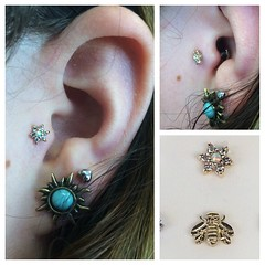 Tragus Piercing by Taylor Bell