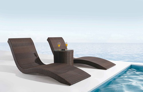 Furniture Future Chairs Cool Comfy Buy Office Furniture Relaxation  Futuristic Dark Brown Rattan Pole Lounge Chair Curved Shape Decoration Small Office Chair  ...