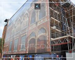 Swan Theatre Stratford upon Avon - Tufcoat Shrink Wrap2
