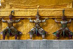 2016_04-Bangkok-M00078 (trailbeyond) Tags: architecture asia bangkok building gold location outdoors pattern religiousbuilding statue temple templeoftheemeraldbuddha texture thailand thegrandpalace watphrakaew