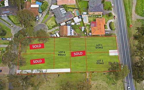 Proposed Lot 4 at 17a Markwell Place, Agnes Banks NSW