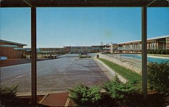 College Inn motor Lodge, Raleigh, North Carolina (SwellMap) Tags: postcard vintage retro pc chrome 50s 60s sixties fifties roadside midcentury populuxe atomicage nostalgia americana advertising coldwar suburbia consumer babyboomer kitsch spaceage design style googie architecture