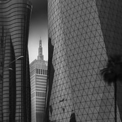 Urban Series IV (Minas Stratigos) Tags: fine art bw envisionography vision sky long sony a7rii 55mm archi exposure architecture urban city doha qatar