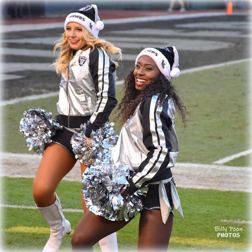 2016 Oakland Raiderettes Olivia & Krishinda