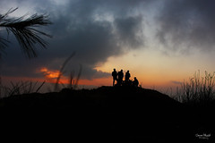 Miranjani top (eemoboo) Tags: top miranjani nathiagali bonfire newyear 2017 sunset darkness view trekkers ayubia nationalpark kpk pakistan abbottabad outdoor highest peak