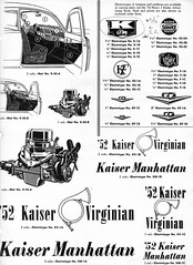 1952 Kaiser Advertising Artwork (aldenjewell) Tags: 1952 kaiser advertising artwork virginian manhattan kaiserfrazer corporation booklet