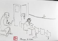 Sketchbook 115 (chando*) Tags: croquis sketch urbansketching