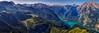 The Königssee seen from Jenner (dejott1708) Tags: königssee berchtesgaden alps panorama jenner sunny sky mountains