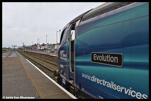 No 68001 Evolution 21st Dec 2016 Lowestoft