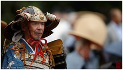 Jidai Festival in Kyoto (Damien Douxchamps) Tags: japan 日本 japon kansai 関西 kinki 近畿 kyoto 京都 中京 下京 上京 central imperialgarden 京都御苑 時代祭 jidai festival matsuri samurai 侍