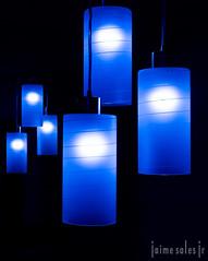 Luzes (Jaime Sales) Tags: luz fria pendente azul g7xmarkii indoor light cold blue g7x