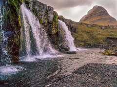 Under the thundering torrent of Kirkjufell (ChrisKirbyCapturePhotography) Tags: kirkjufell iceland mountain waterfalls falls water