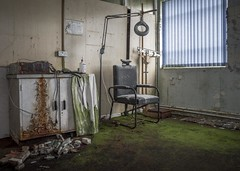 Medical Room (Camera_Shy.) Tags: abandoned derelict disused medical room decay decayed urban exploration health occupational treatment ue urbex dereliction nikon d810 exploring uk explorers moss