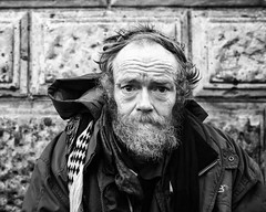 After this time (thomasthorstensson.photography) Tags: story face expression homeless explore xf23mm14r january 2017 soho honest eyes monochrome urban fujifilmxt1 human portraiture social abandoned bw blackandwhite borough citified city civil communal community consider fallible mortal portrait probe realism town vagabond vagrant wandering
