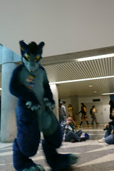 FCParade2017_03_-20170114-00060 (Kory / Leo Nardo) Tags: fur furry fursuit suiting dance party dj con convention further confusion fc san jose marriott center parade walk march fc2017 2017 pupleo kory