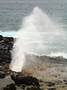 Spouting Horn (steveboer.com) Tags: spoutinghorn blowhole rock ocean hawaii kauai plume spray waves spout blow koloa