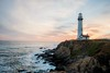 Pigeon Point Lighthouse (clfhhc) Tags: sunset pigeon point lighthouse d5500