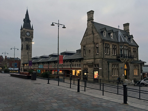 Darlington Market Hall and Clock Tower