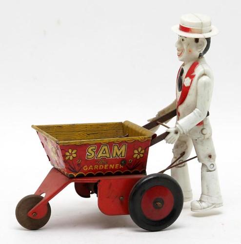 """Marx """"Sam the Gardner"""" toy ($89.60)"""