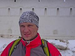 Граф Остоженский настраивается на долгие километры пути... Сегодня у него точно будет медаль!