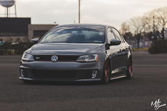 MK6 GLI (Mike Burns Photography) Tags: vw volkswagen jetta gli mk6 bagged bagriders airlift 3sdm slammedenuff