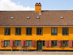 Copenhagen (romanboed) Tags: street travel house building bike bicycle architecture copenhagen denmark europe m ochre 50 summilux 240 leice anawesomeshot