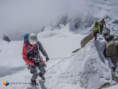 Slowly (HendrikMorkel) Tags: mountains alps mountaineering chamonix alpineclimbing arêtedescosmiques arcteryxalpineacademy2015