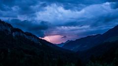 Ride the Lightning (evolvingLight) Tags: sky mountain nature rock landscape climb österreich scenery outdoor natur hike berge kaiser fels landschaft wilder kufstein kaisergebirge