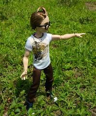 Dexter Charming Makes a Wish (Pietro Maximoff) Tags: ken barbie idreamofjeannie mattel jeanniebottle everafterhigh dextercharming