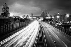 _MG_6235.jpg (k.jenchik) Tags: street city longexposure blackandwhite bw lights traffic russia moscow bnw москва чб canoneos50d canonef1635f28