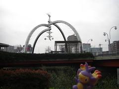Ambipom in Kasukabe, Saitama 6 (Kasadera) Tags: toys figure pokemon pokmon  kasukabe   pokemonkids  ambipom     ambidiffel capidextre