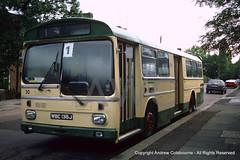 SP16905FprintExNewport30WellgarthRoad051085AndrewColebourne (andrewcolebourne) Tags: 30 leicester transport corporation newport borough goldersgreen wellgarthroad wbc136j woe498j vdw430k